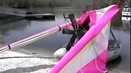 动力三角翼飞船  水上飞机