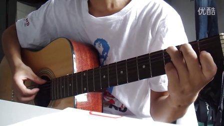 吉他初学弹唱之你知道我在等你吗