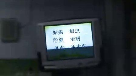 山西省新绛县西街实验小学支冬艳课堂实录《棉花姑娘》(三)