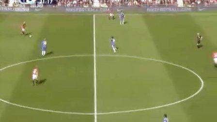 0910英超 第33轮 曼联vs切尔西 上半场 上视体育