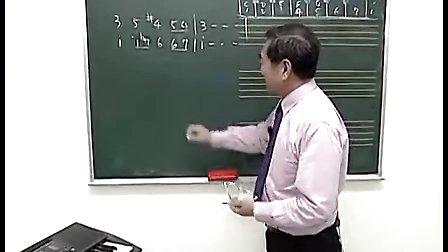 宋大叔教音乐第一单元看谱学歌与基础乐理04