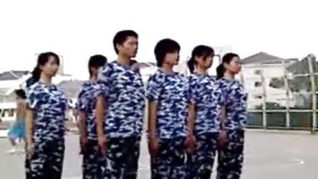 中南林业科技大学——2007届教官训练营汇操(二连)
