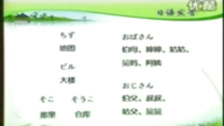 2【标准日语基础教程】入门单元