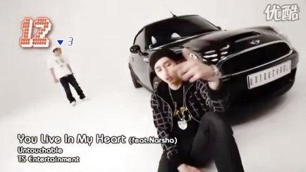 [韩音小筑 宁博]2010 韩国单曲排行榜前20强(3月第2周)