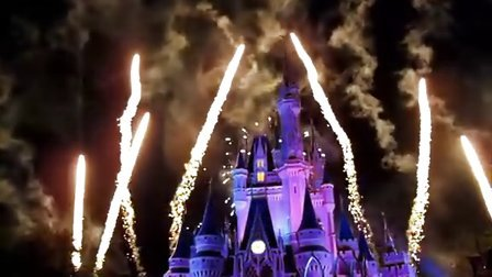Disney World Fire Work 2