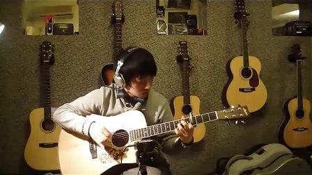 中国风 原创指弹吉他曲子 无题 BY YINZHIWEI