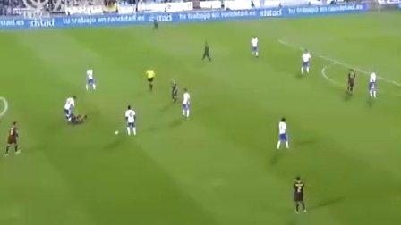 10月24日 西甲第8轮 萨拉戈萨VS巴塞罗那 下半场