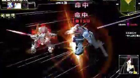2000男的战斗,GN-X敢达战斗视频
