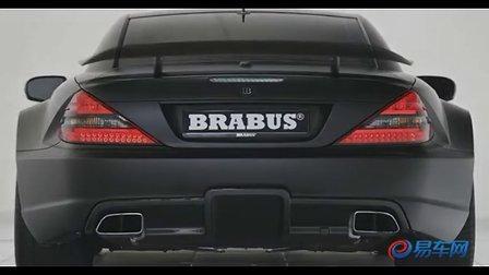 奔驰Brabus SL65 AMG black Series 黑色超酷