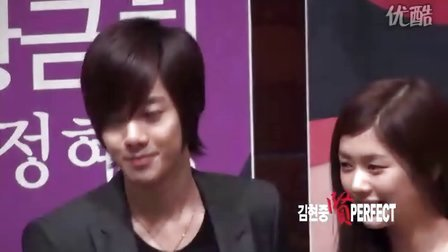 20100826 [Fancam] KHJ at MBC Press Con Photo Time