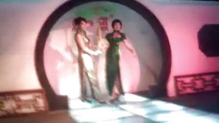 杭州丝绸服装表演