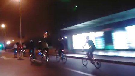 极速空间 首次夜骑骑行视频2 俱乐部 夜骑 骑行