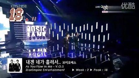 [宁博]2009年11月第三周K-POP单曲榜TOP30