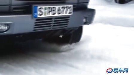 梅赛德斯奔驰G-CLASS 雪地完美狂飙