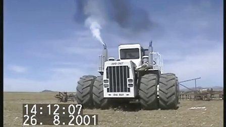 世界最大的农用拖拉机Bud 747