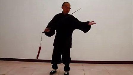 传统杨式太极剑51式教学详解3  永年李占英