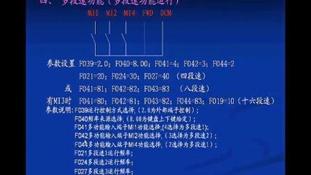 三晶变频器常用功能与应用4