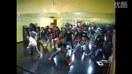 重庆街舞(TK)TOPKING舞蹈传媒12月12号HIPHOP(B班)教学视频