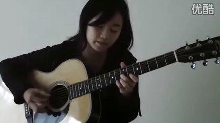 日本女生翻弹押尾Bolero