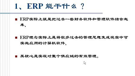 石油大学 ERP原理与实施 视频教程第1讲