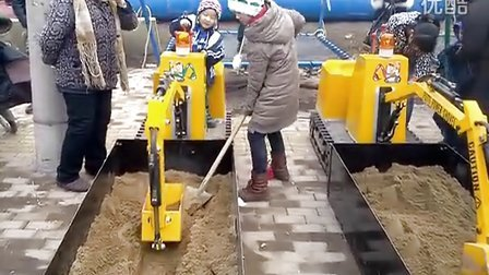 济宁微装 儿童挖掘机 游乐吊车 2014最火游乐项目