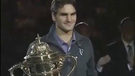 [颁奖视频] 2010巴塞尔 费德勒夺冠 颁奖视频全录