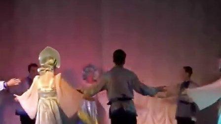 手语伴舞的俄罗斯海岸
