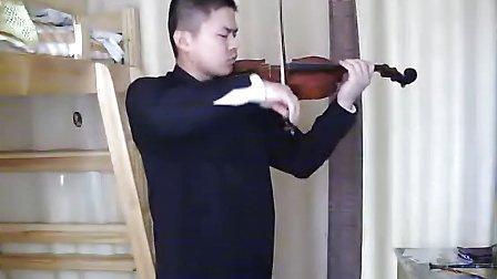 隐形的翅膀(小提琴版)