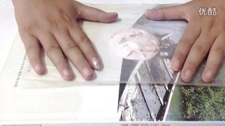 石膏拓演示视频