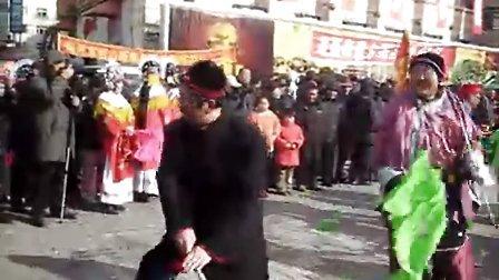 2011年春节锦州秧歌队.高跷队