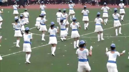 第三十二届校运会 师范学院团体操表演