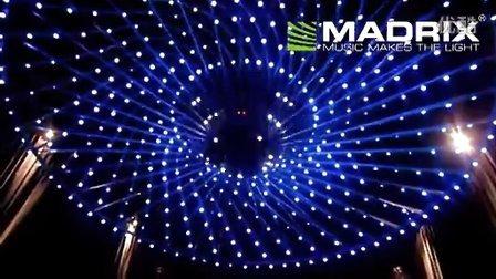Madrix @ night club Obelisco Polanco, Mexico, RGB night club