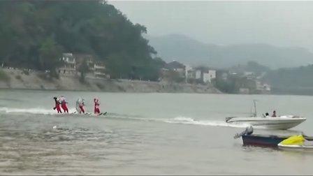 福寿节 水上表演