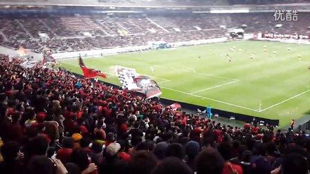 广州恒大对阵首尔FC的第二个进球 中国球迷都激动了