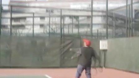 网球发球技术