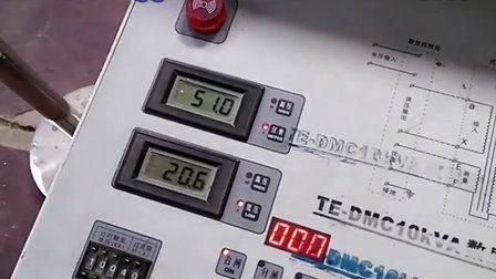 15kvA_150KV试验变压器80%负载状态无限流放电试验视频_正弦电力