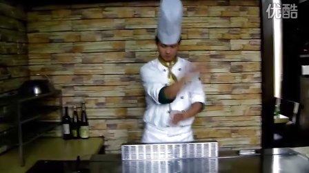 [拍客]2011大渔哥玩转日式铁板----刀叉