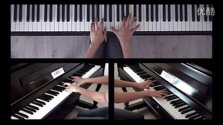 皮尔松卡 塔兰泰拉舞曲 中国音协钢琴考级 七级 76-85小节