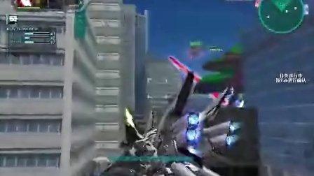 SD敢达OL G变革 新安洲(光束斧)娱乐作战视频