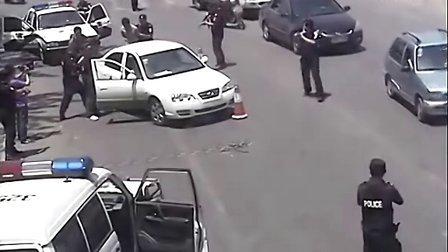 直击洛阳黑老大被特警当街抓获现场
