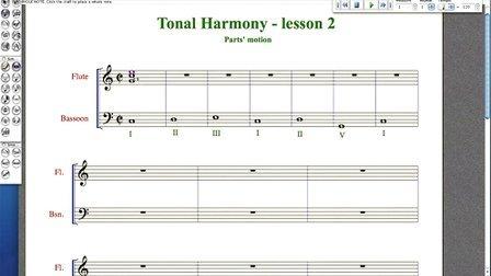 欧美和声课程第二课Harmony - lesson 2 - Parts' motion