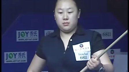 """""""天一·乔氏""""杯2010-2011赛季全国中式八球排名赛大连站  女子决赛"""