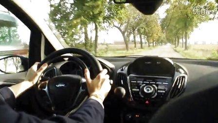 肯夫手驾-法国乡村小路-匀速驾驶