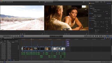 在 FCPX中的电影工作流程