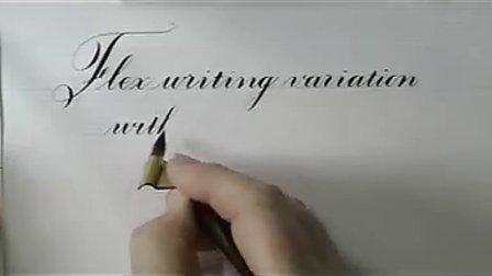 英文花体字教程12