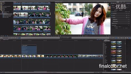 final cut pro x Motion 5 workflow 教程