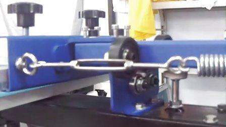 四色丝网印刷机 T恤印花机 手动丝印机 丝印设备 功能与操作视频