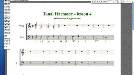 Harmony - lesson 4 - 1st inversion