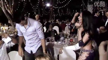 2011迪拜 球员player's party费德勒帅 小德搞怪