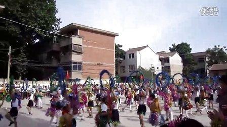 蓝田县进校附小六一儿童节(呼啦圈舞)